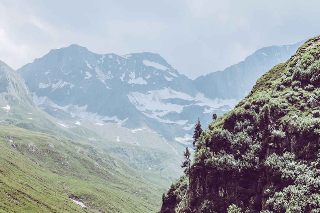 Bergkette um den Seebersee herum