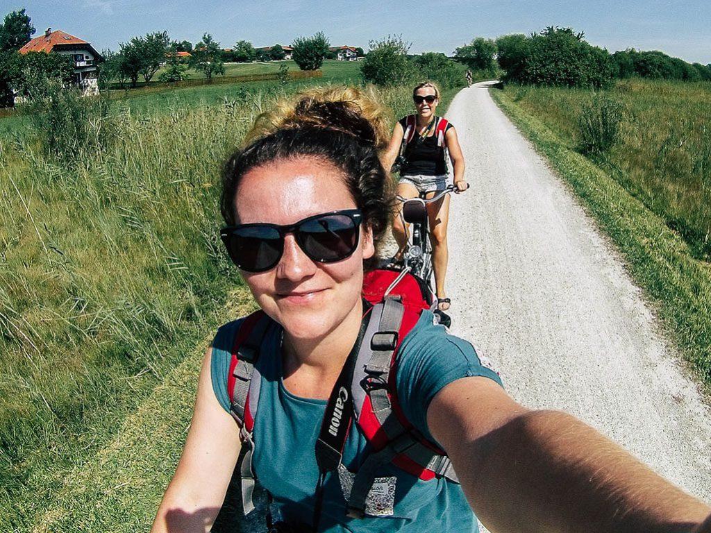 Fahrradtour um den Chiemsee