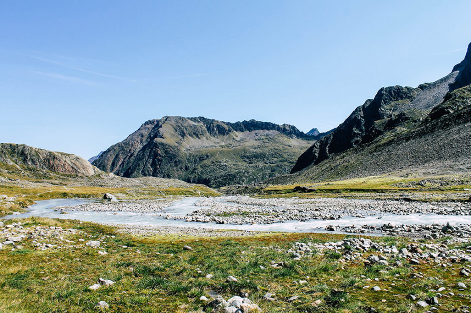 Flusslauf am WildeWasserWeg