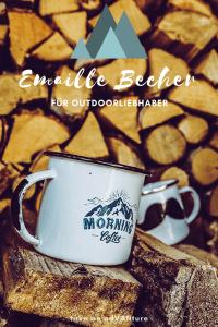 Artikel ueber Emaille Becher fuer Outdoorliebhaber