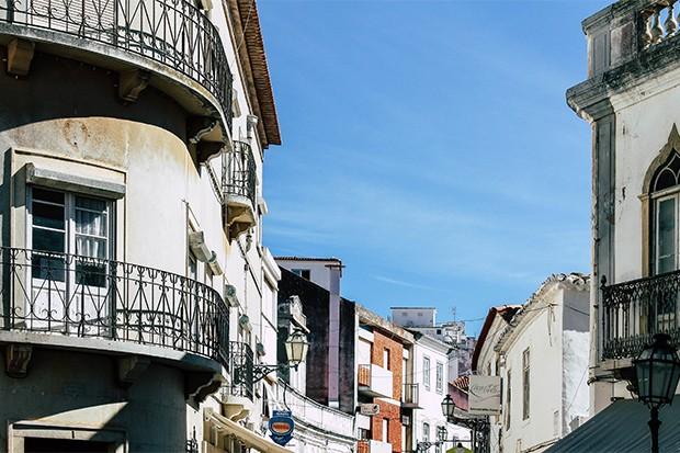 Die Altstadt von Lagos in Portugal