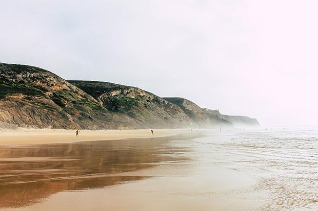 Praia de Vale Figueiras in Portugal