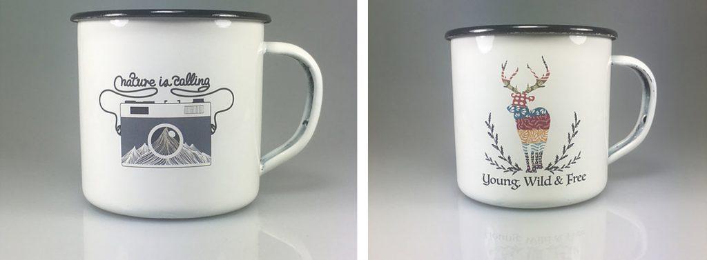 Emaille Tassen von Region Mugs