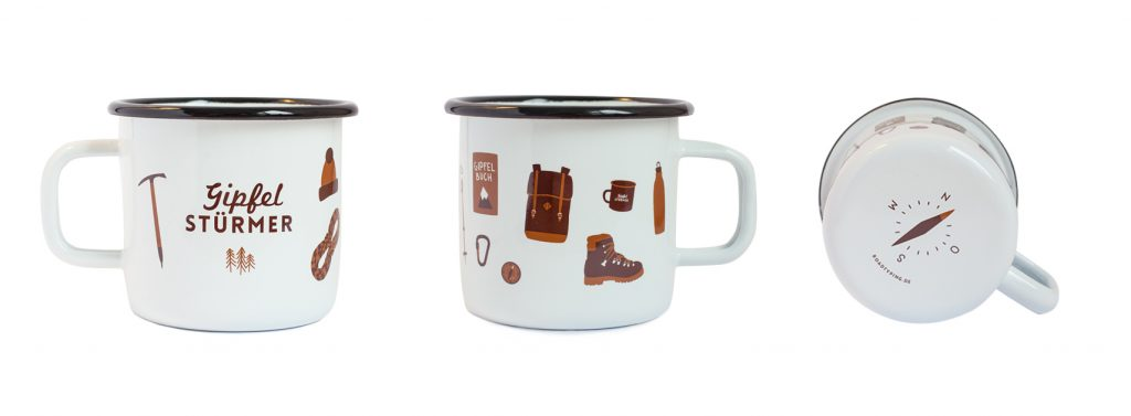 Emaille Mugs von Roadtying
