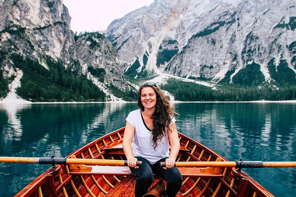Bootstour auf dem Pragser Wildsee