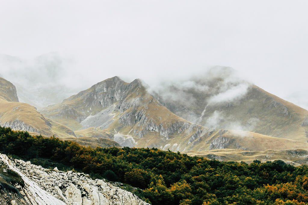 Bergwelt im Durmitor Nationalpark
