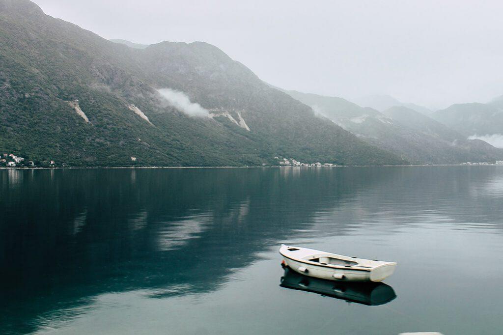 Blick in die Bucht von Kotor