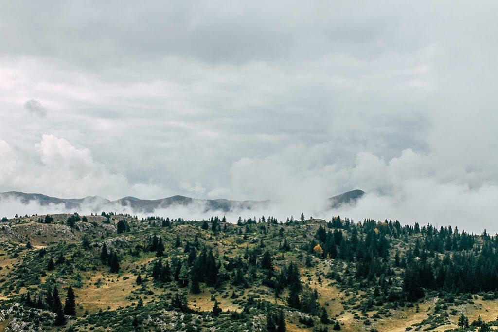 Aussicht im Durmitor Nationalpark