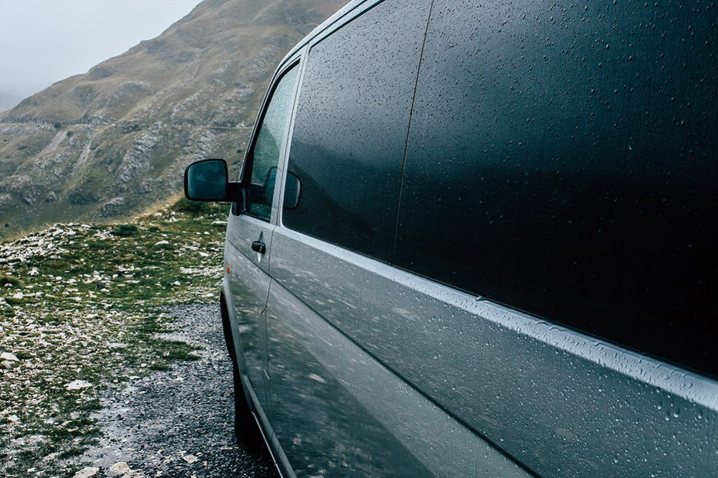 mit dem VW T5 durch Montenegro