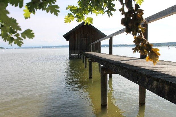 Holzsteg am Ammersee