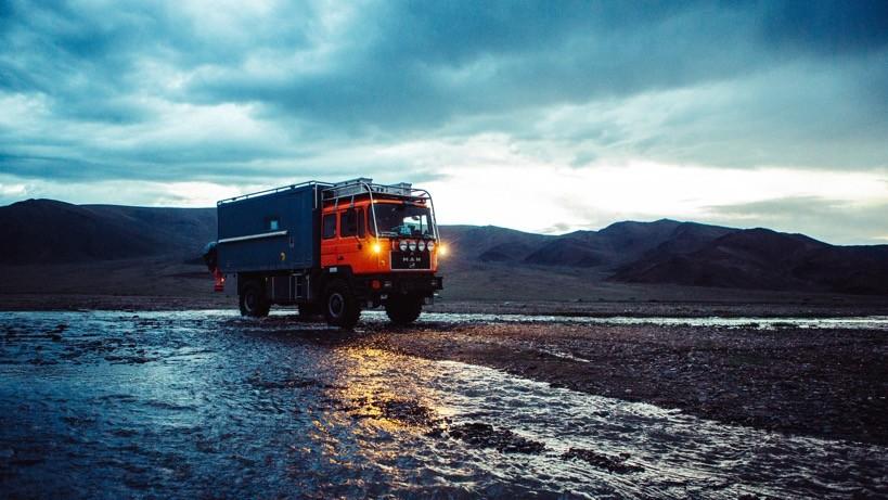 Stellplatz in der Mongolei