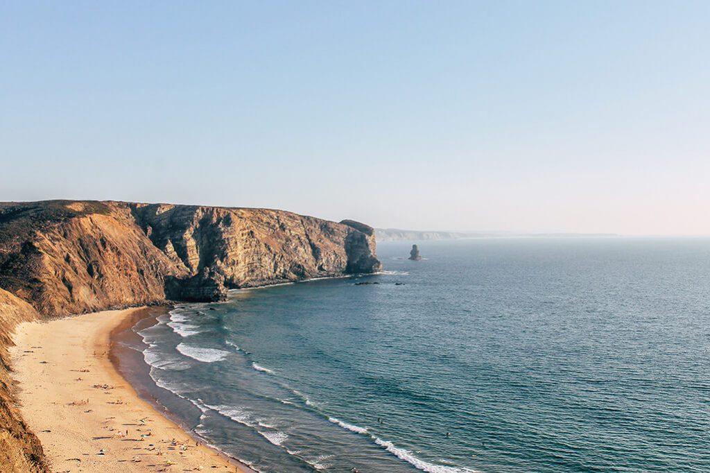 Aussicht auf den Praia da Arrifana