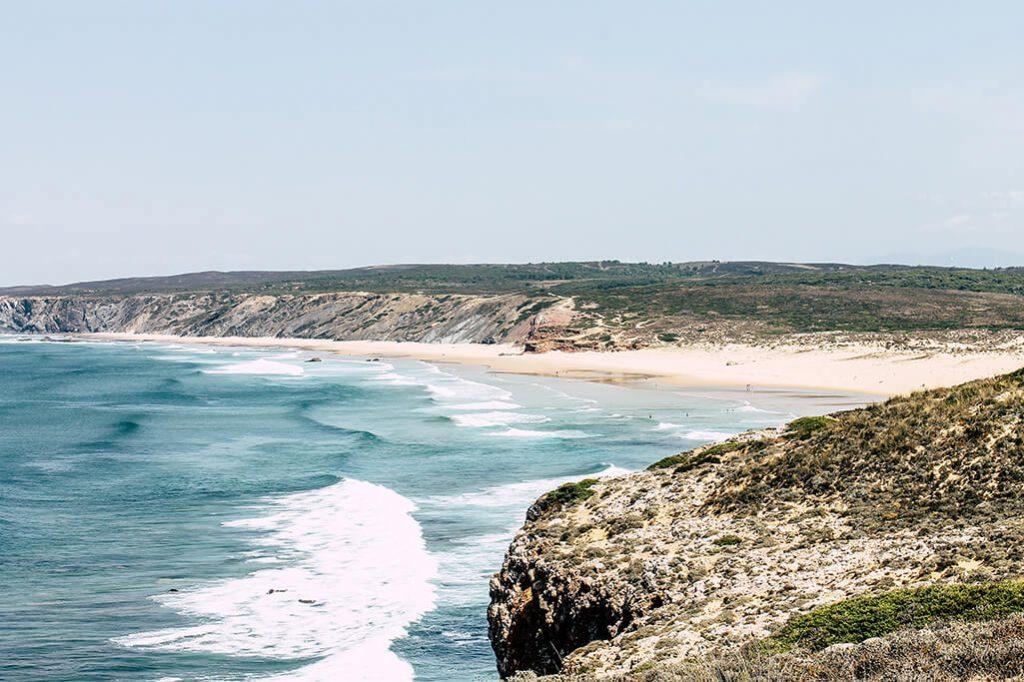 Blick auf den Praia da Bordeira