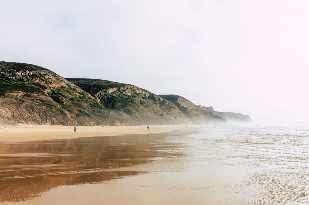 Aussicht am Praia de Vale Figueiras