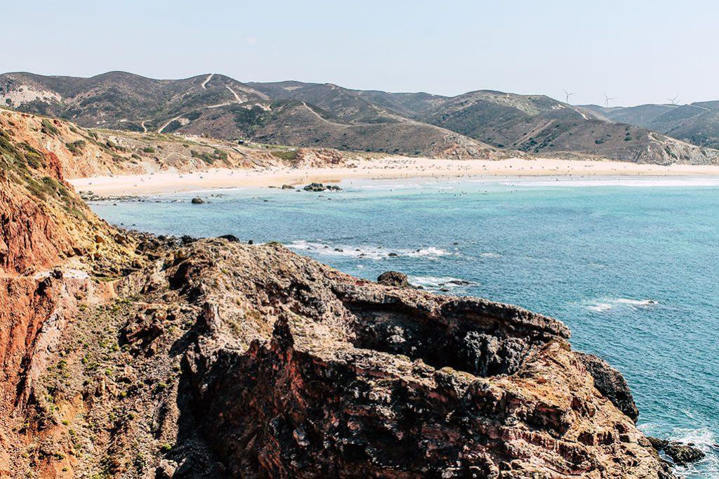 Aussicht auf den Praia do Amado