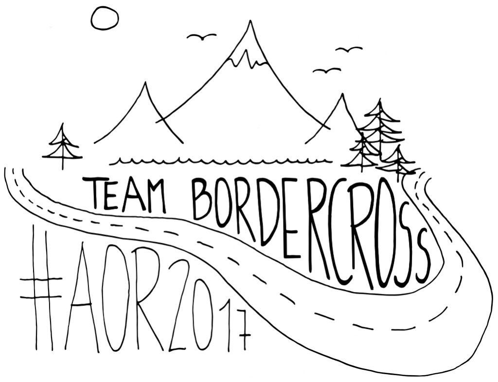 Logo vom Team BorderCross für die Allgäu Orient Rallye 2017