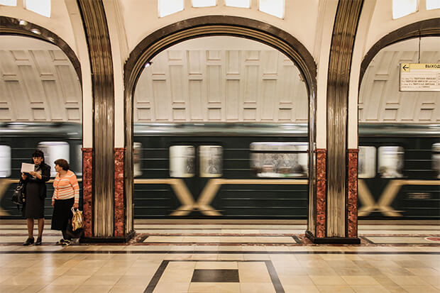 U-Bahn-Station in Moskau