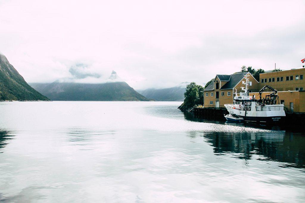 Blick auf Husøy