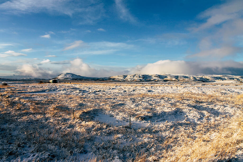 Landschaft auf der Snaefellsnes Halbinsel