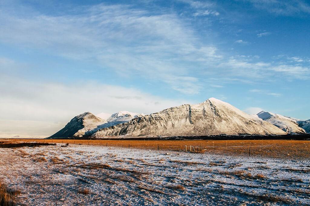 Unterwegs auf der Ringstrasse in Island