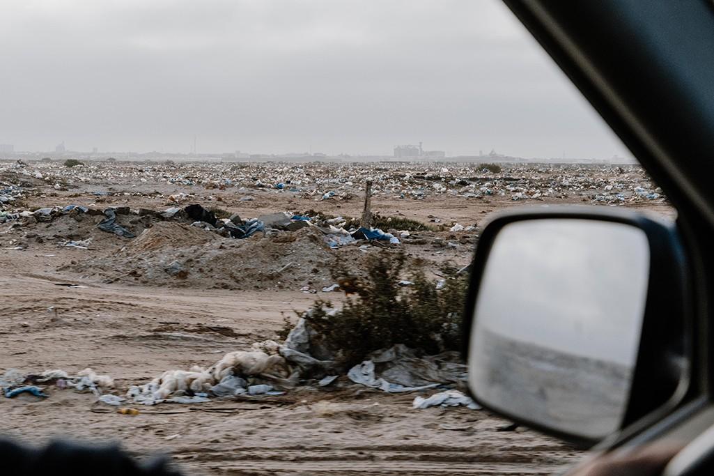Naturprodukte beim Camping Umweltverschmutzung durch Plastik