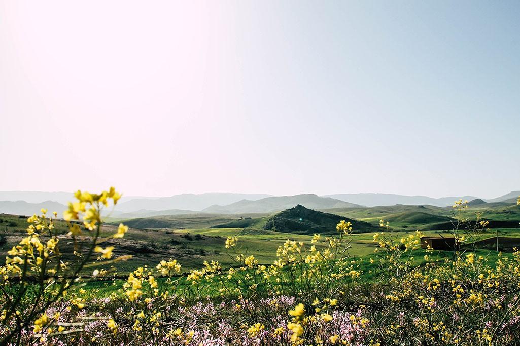Hinterland in Marokko
