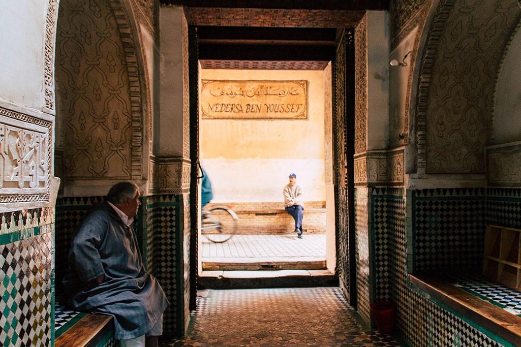 Marokko Medersa Ben Youssef