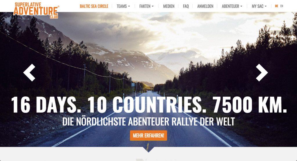Rallyes fuer Jedermann Baltic Sea Circle