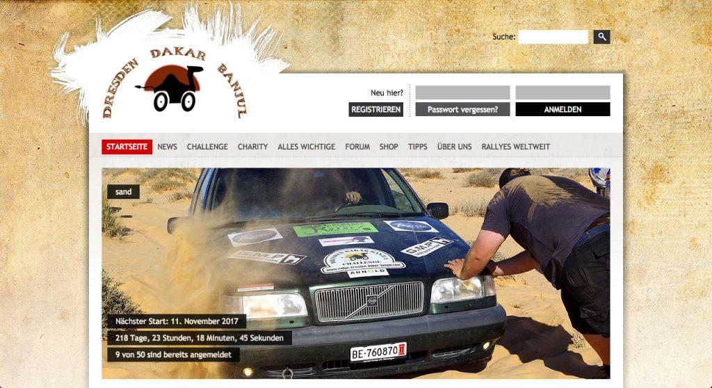 Rallyes fuer Jedermann Dresden Dakar Banjul