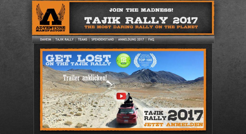 Rallyes fuer Jedermann Tajik Rallye