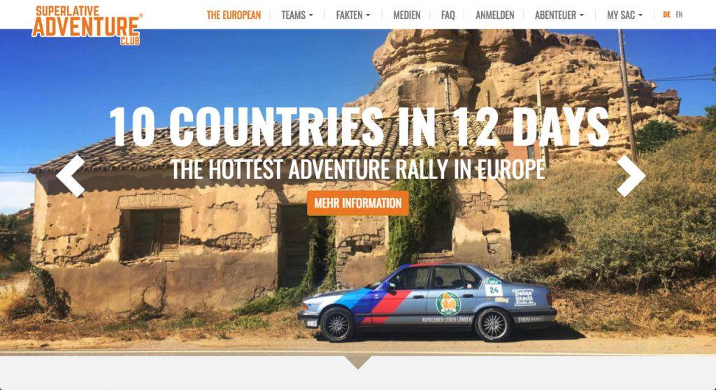 Rallyes fuer Jedermann The European