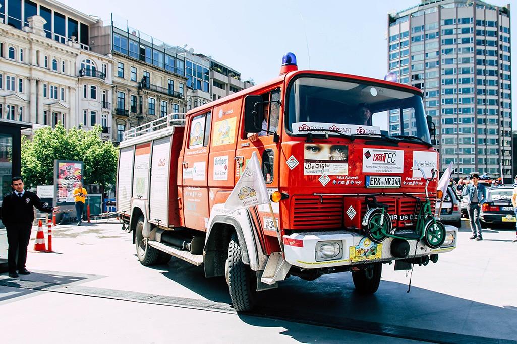 Magirus Deutz Feuerwehrauto in Istanbul