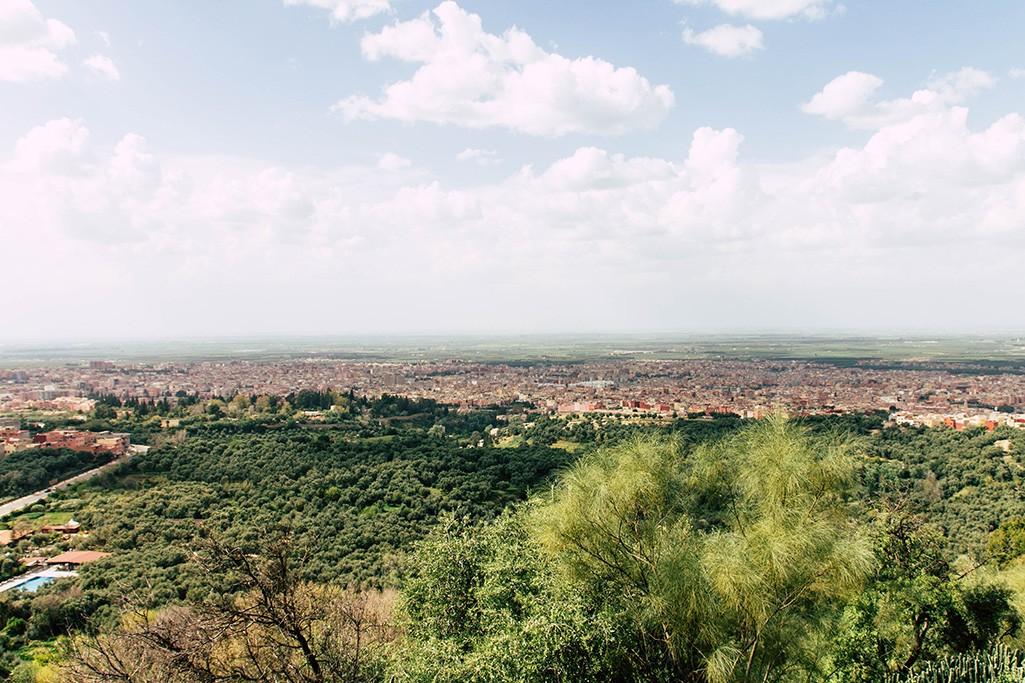 Blick auf Beni Mellal
