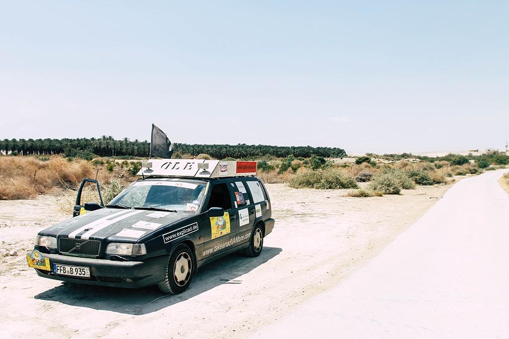 Volvo 850 in Jordanien
