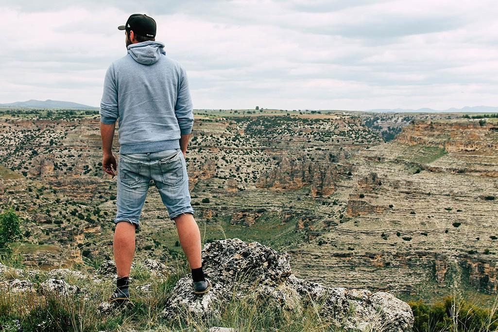 Blick über den Ulubey Canyon