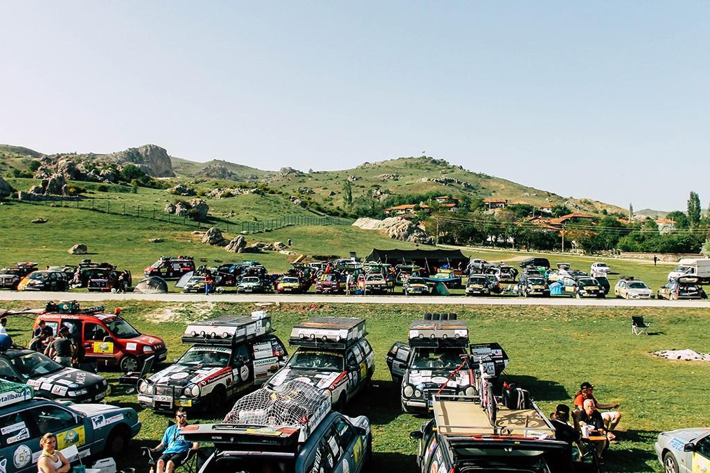 Fahrerlager in Bogazkale