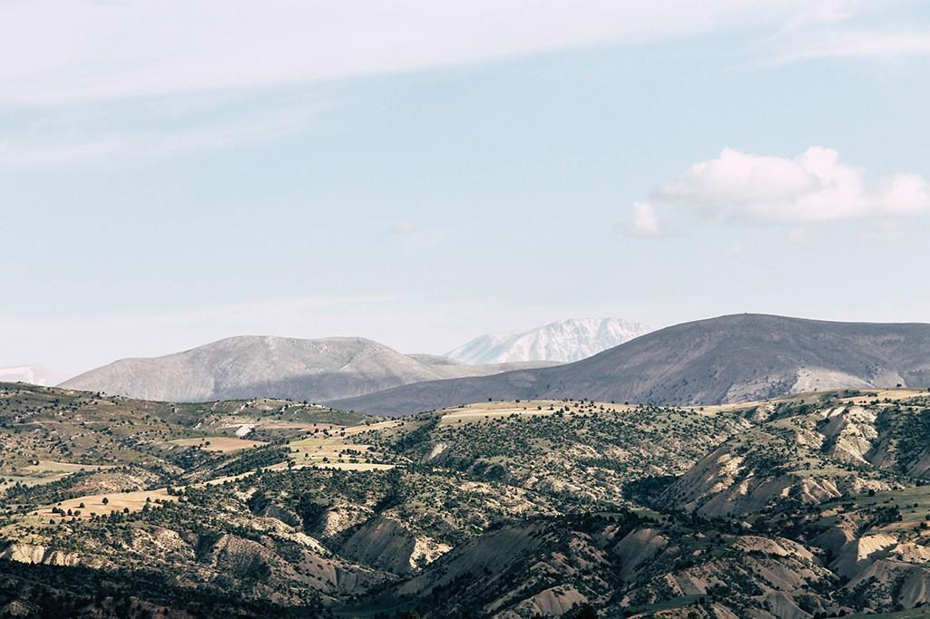 Fahrt durch das Hinterland der Tuerkei