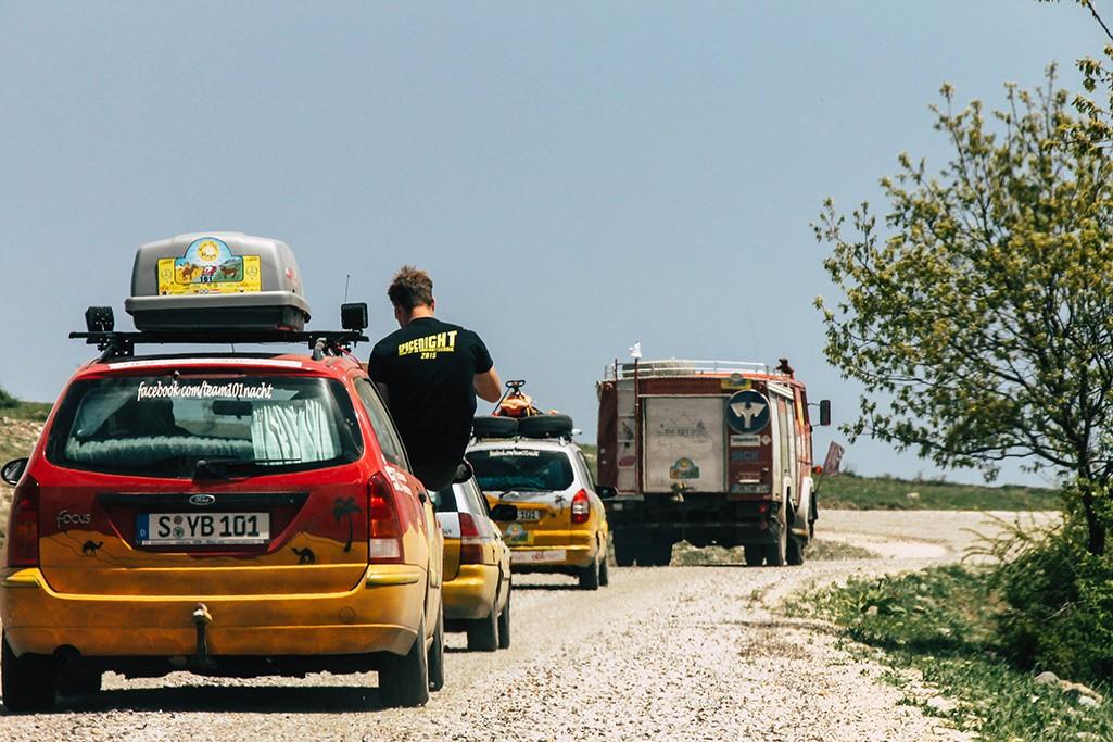 Rallye durch die Tuerkei bei Bogazkale