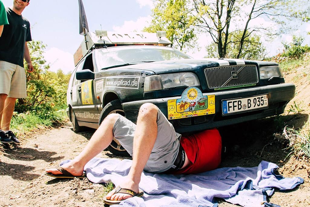 Volvo 850 als Rallyefahrzeug