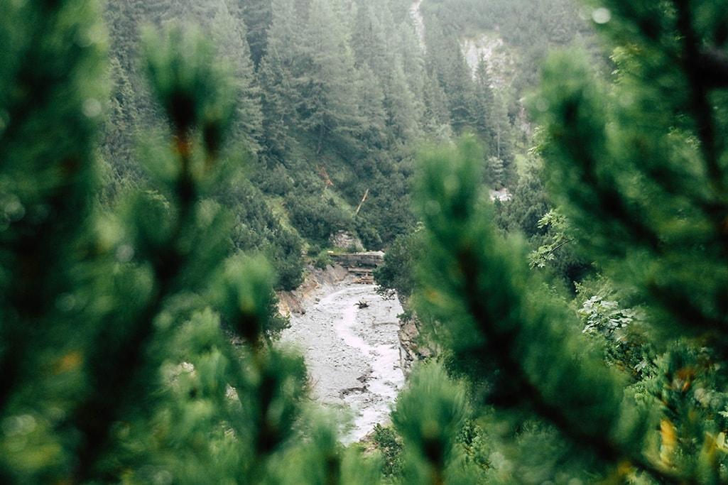 Wasserlauf am Adlerweg