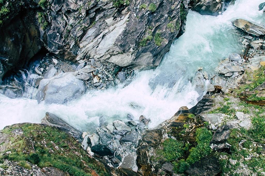 Flusslauf in der Dabaklamm