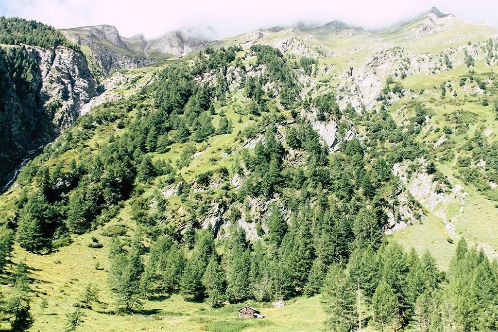 erster Blick ins Dorfertal in Osttirol