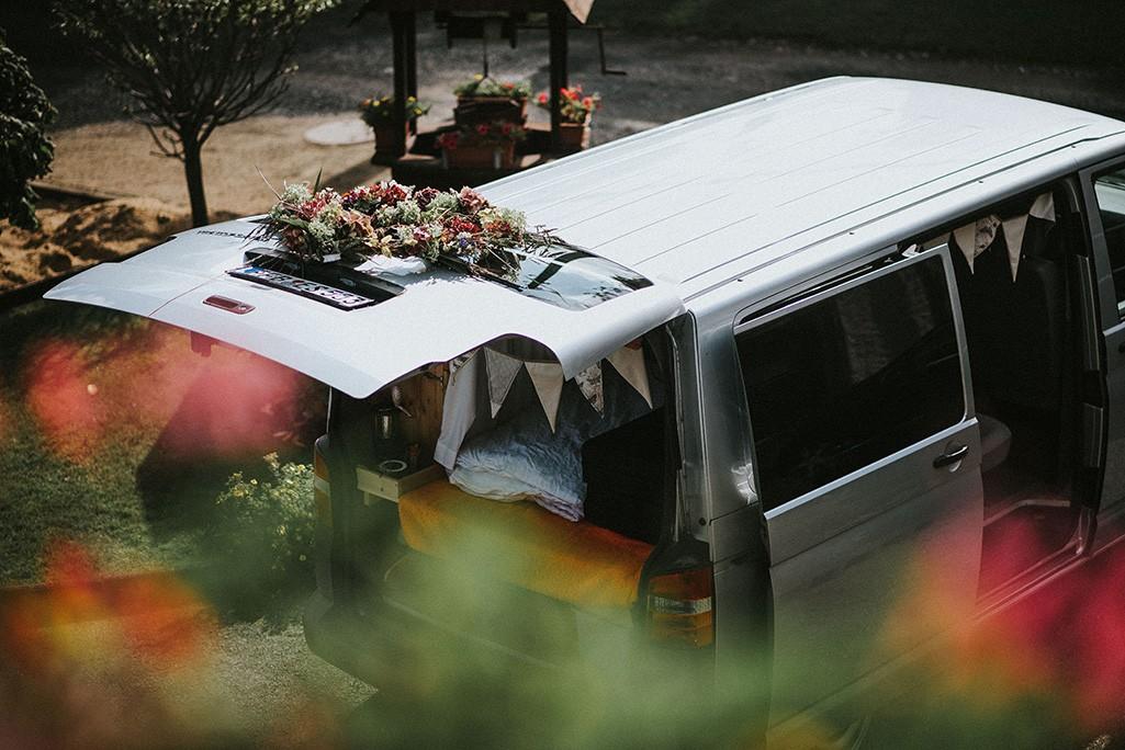 VW T5 als Hochzeitsauto