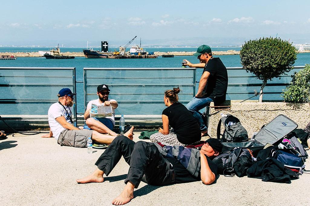 Am Hafen in Haifa