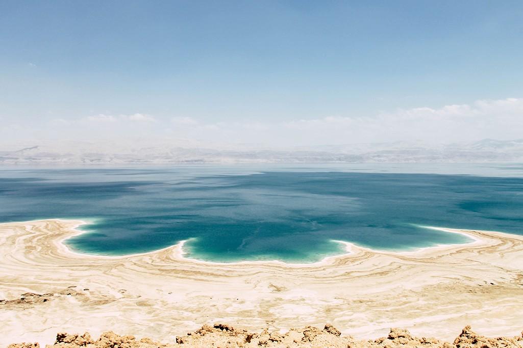 Blick auf das Tote Meer in Israel