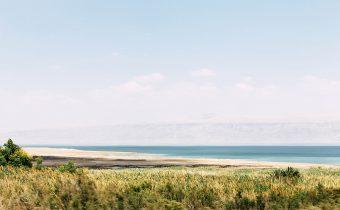 Am Toten Meer in Israel