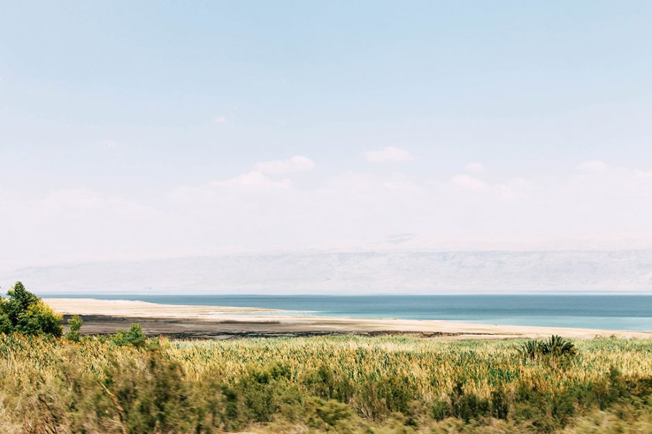 Am Toten Meer in Israel