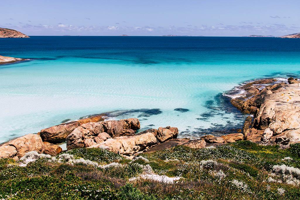 Bucht in Westaustralien