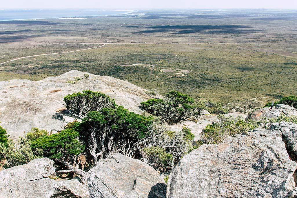 Aussicht vom Gipfel des Frenchman Peaks