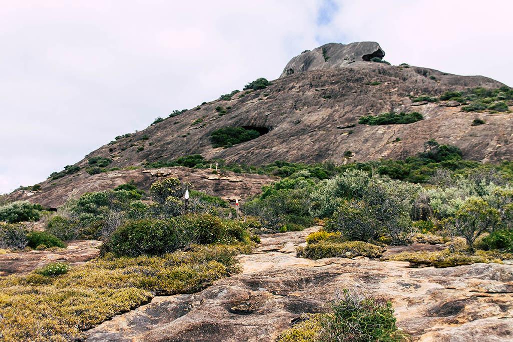 Wanderung auf den Frenchman Peak